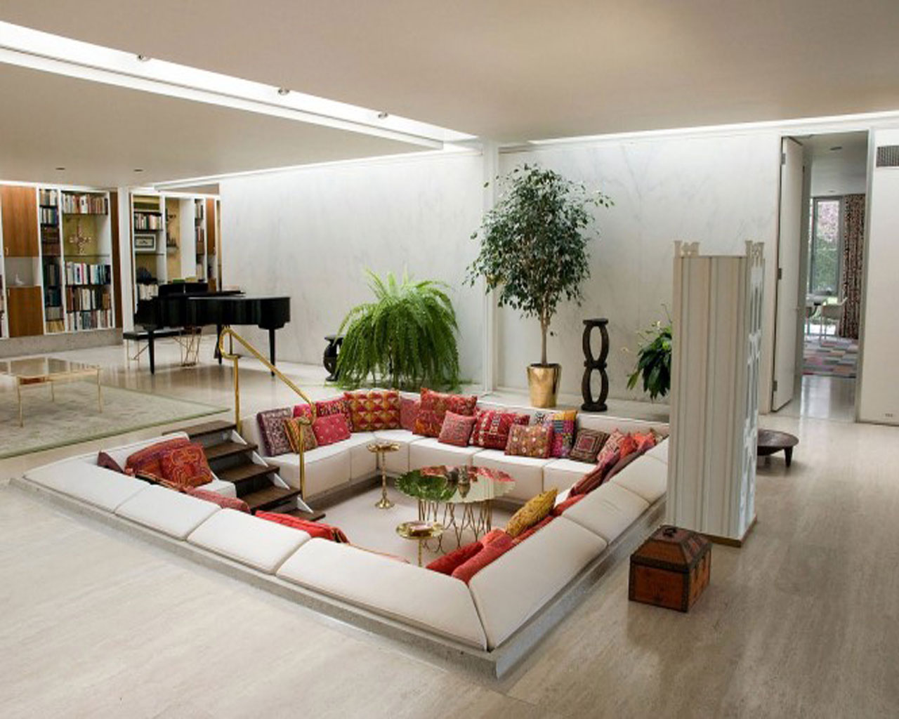 افكار تصميم غرف جلوس عصرية | المرسال