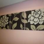 افكار زخارف على الجدران