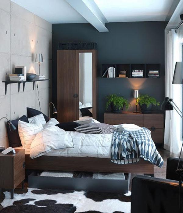 ارفف مكتبات خشبية لغرف نوم صغيرة | المرسال