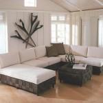 غرفة بأرضيات خشبية - 96129