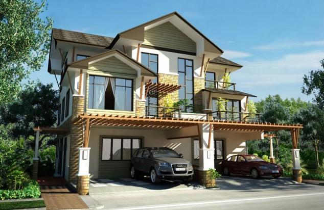 اجمل تصاميم المنازل من الخارج