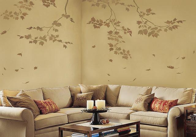 رسومات جدران غرف الجلوس بالمنزل | المرسال