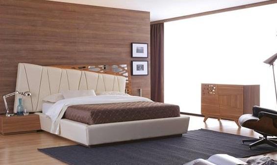 : سرير نوم مودرن 2015 : سرير