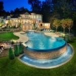 حمامات سباحة للفلل
