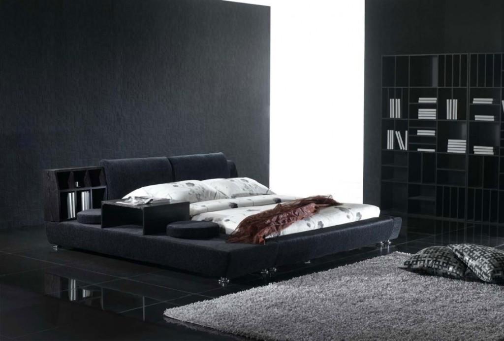 تصاميم غرف نوم سوداء | المرسال