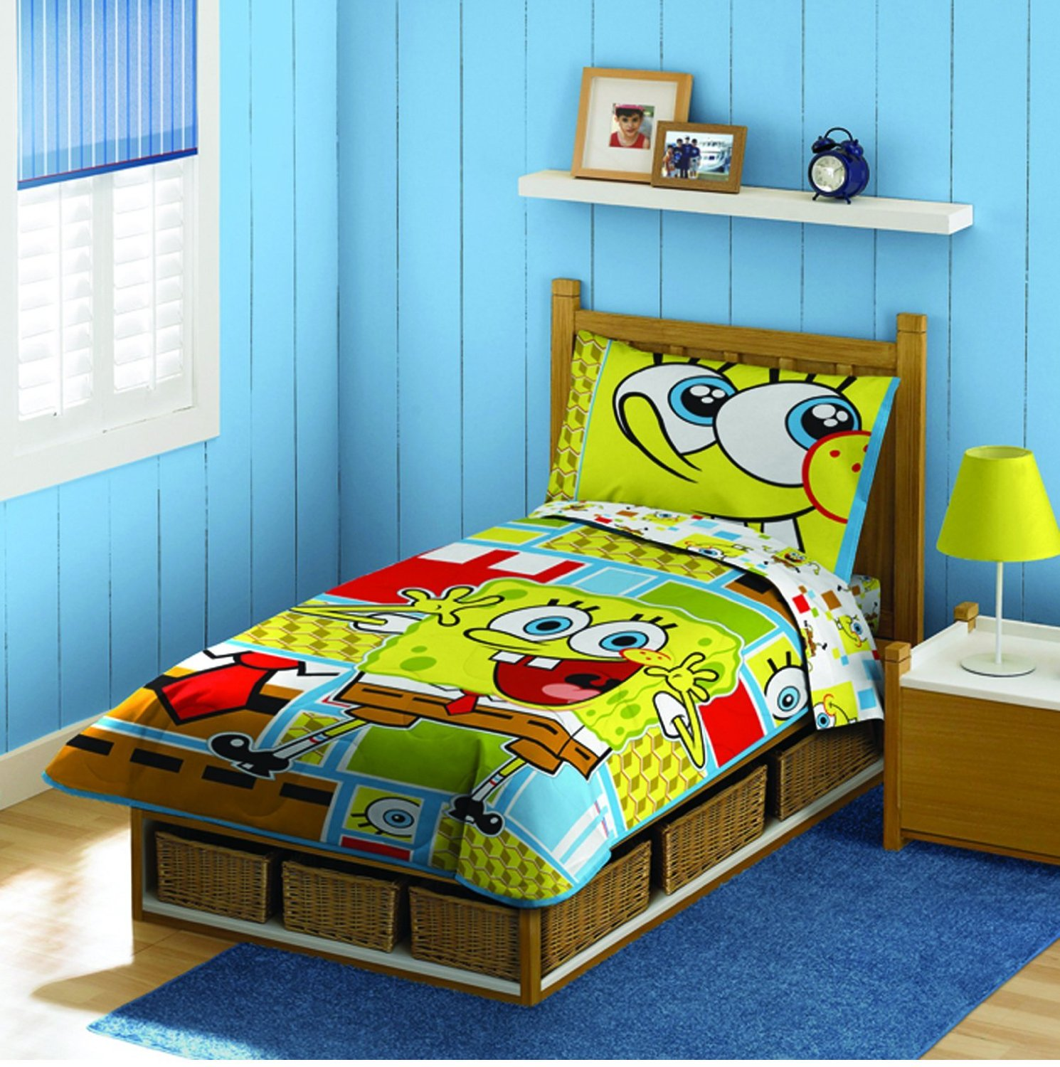 for Boys red and blue bedroom ideas