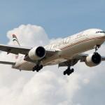 طيران الاتحاد 777 يصل في تورونتو