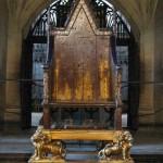 كرسي الملك ادوارد . . . كرسي تتويج الرئيس