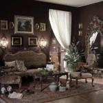 ديكورات غرف جلوس ايطالية