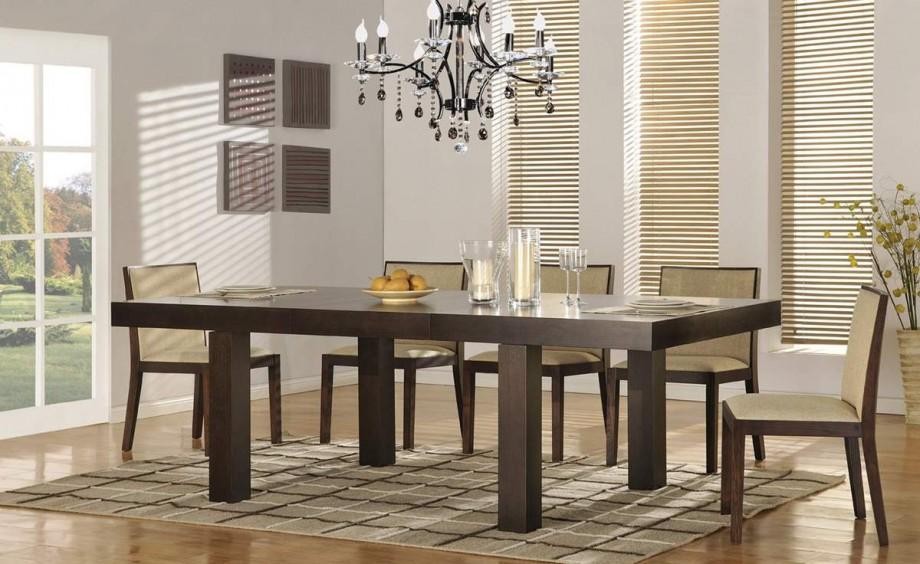 طاولات خشبيه لغرف الطعام المرسال