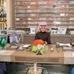 الوليد بن طلال يستقبل سامي الجابر