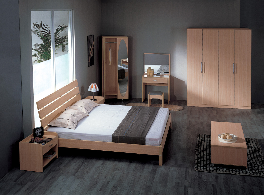 - Image of simple bedroom ...