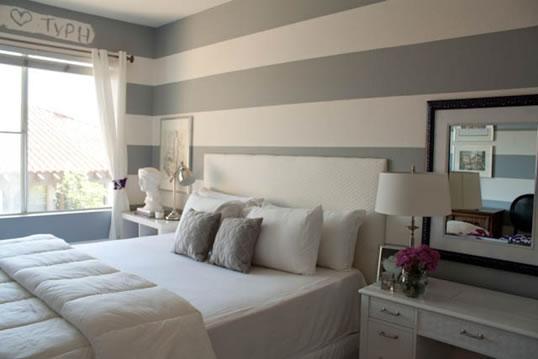 غرفه رمادي في أبيض | المرسال