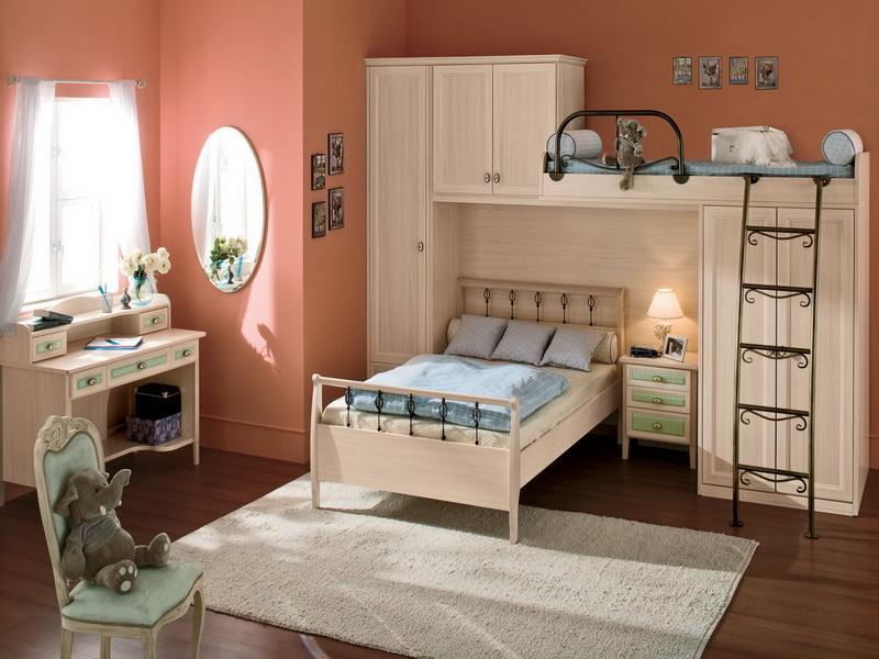 غرفه للأطفال باللون الخربزي | المرسال