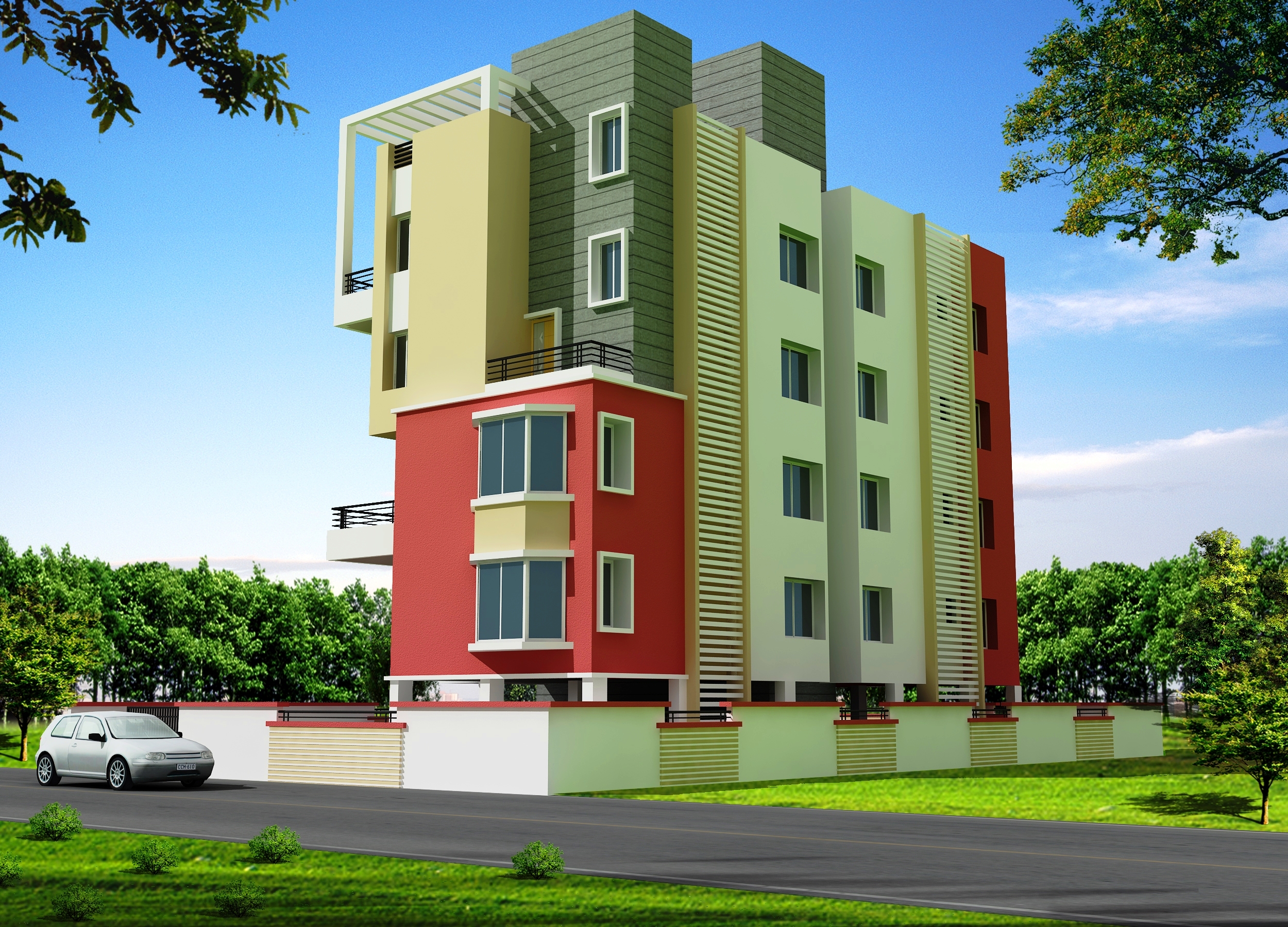 for Design of building house