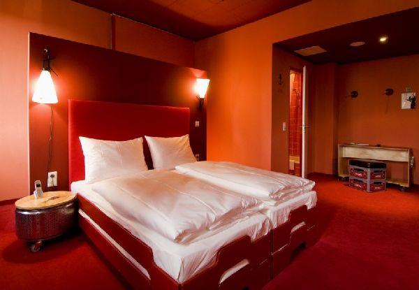 غرف نوم باللون البرتقالي و البني | المرسال