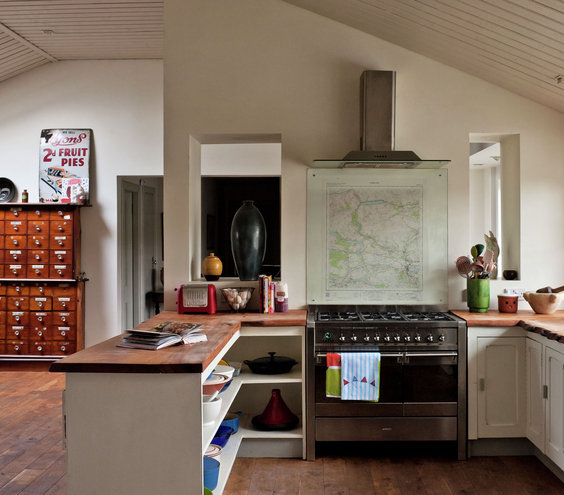 مطبخ صغير مفتوح علي الصاله | المرسال