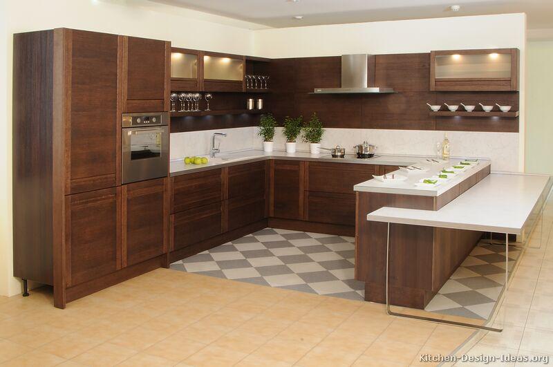 Modern wooden kitchen for Kitchen design ireland