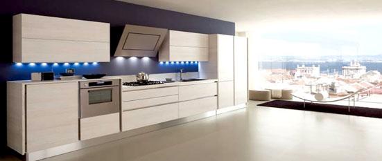 Stainless steel kitchens in riyadh for Italian modular kitchen designs