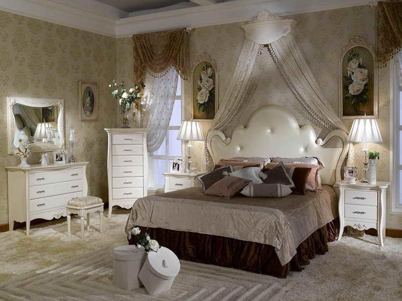 اروع تصاميم غرف النوم الفرنسية للعرسان | المرسال