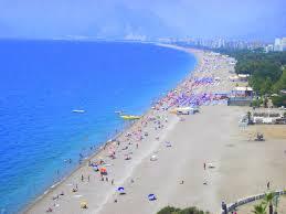شاطئ كونيالتي في انطاليا Antalya