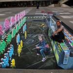 فن الشارع : رسومات ثلاثية الأبعاد في سويسرا