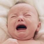 علاج مغص الاطفال