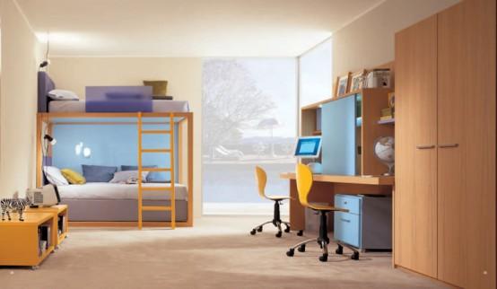 غرف للشباب كبيرة بسرير دورين رائعة | المرسال