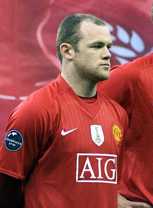 Wayne Rooney football player