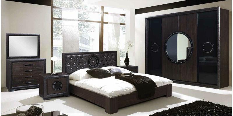 غرفة نوم بني في أسود | المرسال