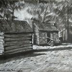 ابداع الرسم بالفحم