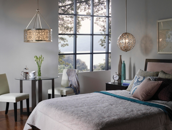 نجف فاخر لاضاءة غرف نوم عصرية المرسال