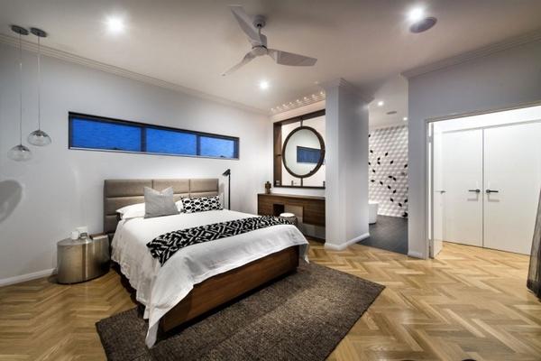 باركيه لارضيات غرفة نوم مذهلة | المرسال