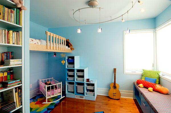 ارضيات باركيه لغرف نوم اطفال روعة | المرسال