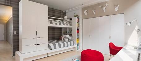 غرف نوم طابقين للأولاد | المرسال