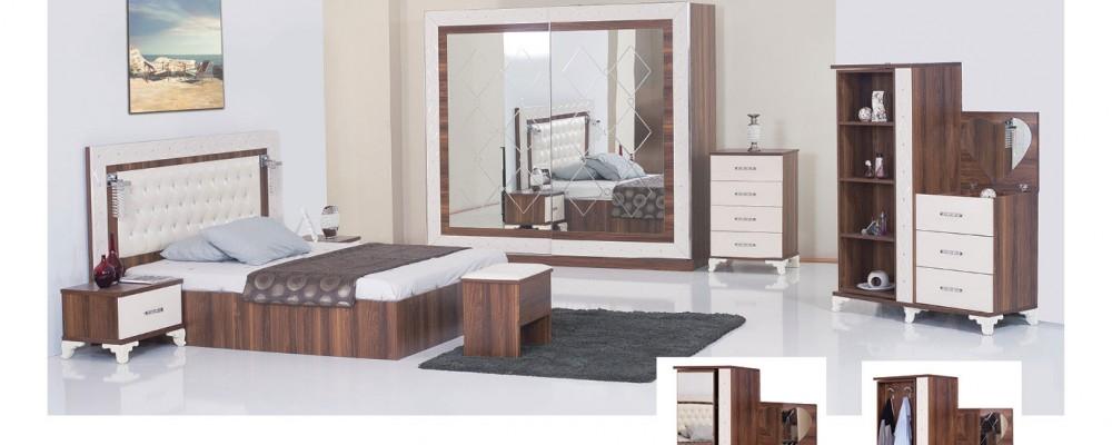 Wooden Turkish Bedroom