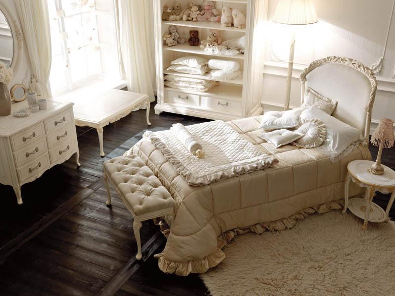 تصاميم غرف نوم كلاسيك للبنات | المرسال