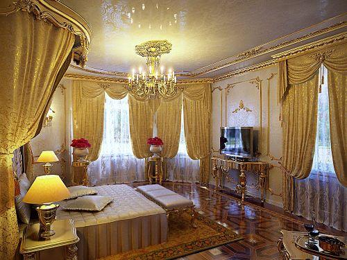غرف نوم ذهبية | المرسال
