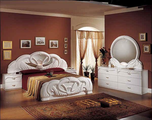 : غرف نوم كلاسيك ايطالية : غرف