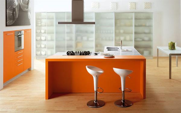 ������ ����� ������� ٢٠١٥ ������� orange-italian-modern-kitchen-color-scheme-ideas.jpg