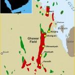 موقع حقل الغوار على الخريطه - 97367