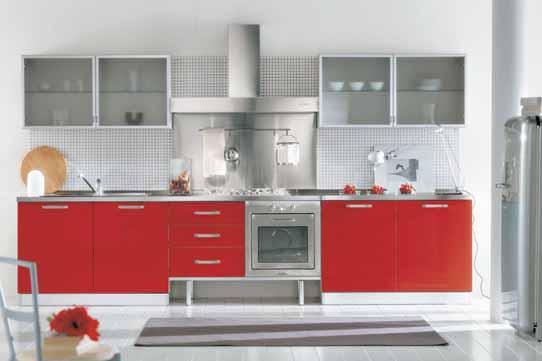 ������ ����� ������� ٢٠١٥ ������� red-cabinet-design-of-modern-kitchen-concept.jpg
