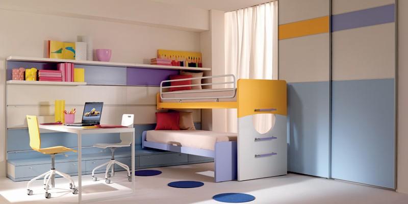 : غرف نوم شباب سرير دورين : سرير
