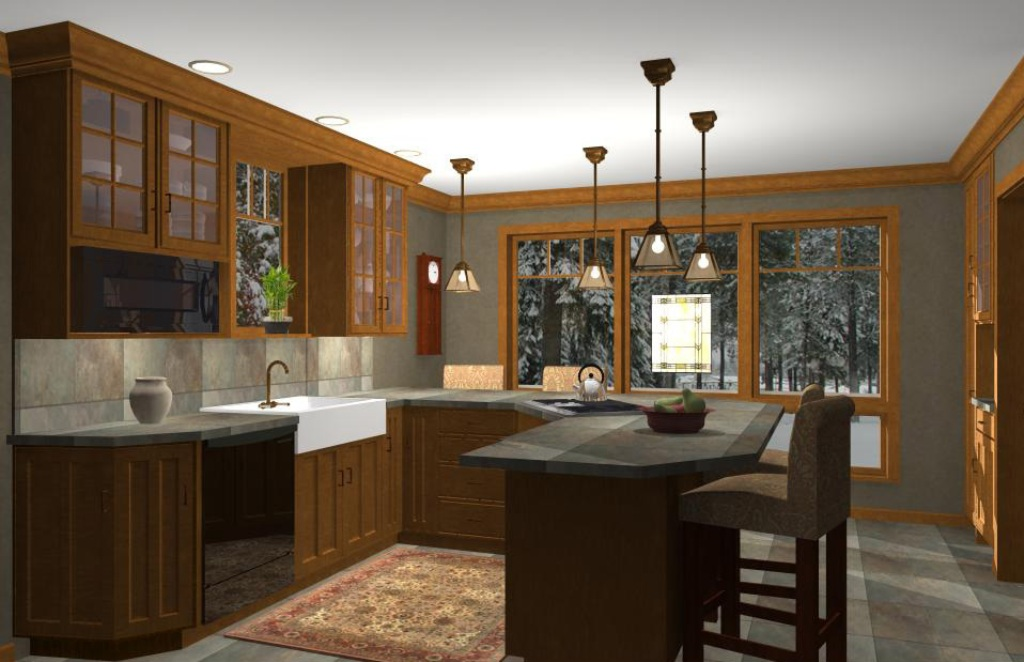 3d for Kitchen decoration games