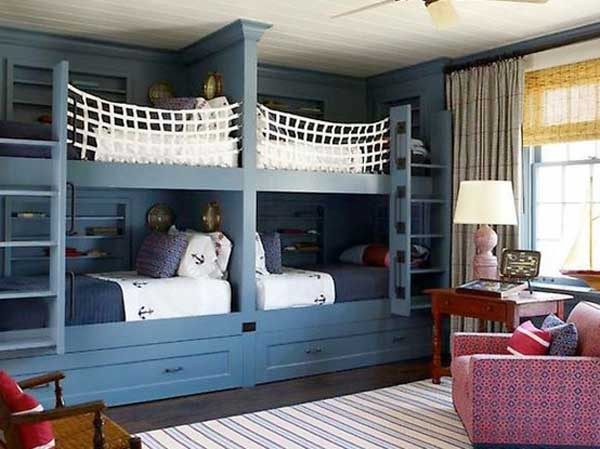 ������ ���� ���� ٢٠١٤ Bunk-Beds-for-kids-marine-style-navy-blue-net-protection.jpg