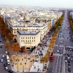 اكبر شارع في باريس . . . الشانزليزيه
