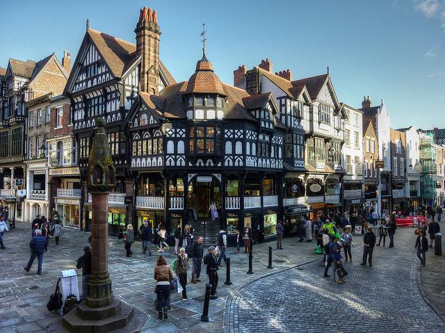 الأماكن السياحية (القروب الأخضر) Chester.jpg