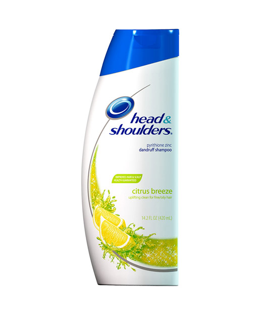 Head Shoulders Citrus Breeze Dandruff Shampoo Head Shoulders Citrus Breeze