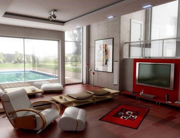 غرف جلوس مبتكرة مودرن | المرسال