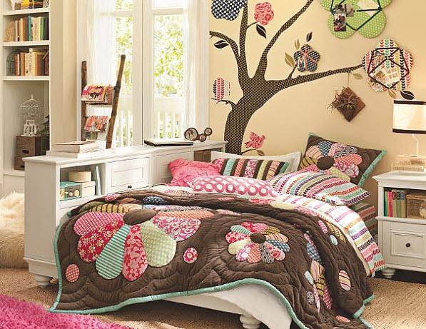 رسومات للجدران بغرف نوم بنات | المرسال